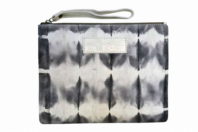 By Burin Dip Dye Suede Clutch - nedsat 30%