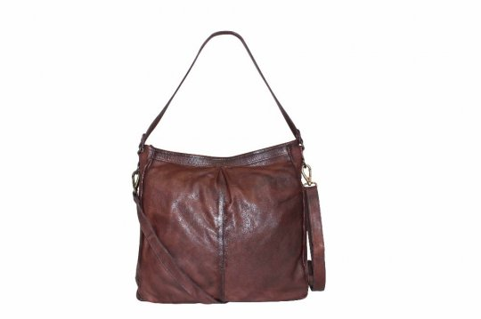 Unmade Knit Leather Hobo Bag - nedsat 25%